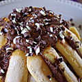 Charlotte chocolat/<b>orange</b> #dessert simple, festif et apprécié !