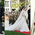 Quelques chic exemples de robes de mariée royale