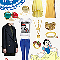 How to dress like#8... Blanche Neige