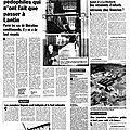 Quelques affaires de <b>réseaux</b> pédophiles en Belgique avant l'affaire Dutroux