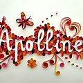 Mes quilling ou paperoles