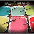 <b>Gâteau</b> Mario rainbow cake