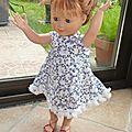 Une robe <b>trapèze</b>