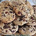 Cookies <b>chocolat</b>-noisette
