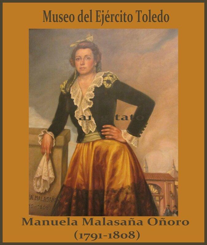 Museo del Ejército Toledo Musée de l'Armée Tolède Artgitato Manuela Malasaña Oñoro