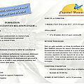 2016 / 2017 - <b>Formation</b> Consultant en Relation d'Aide