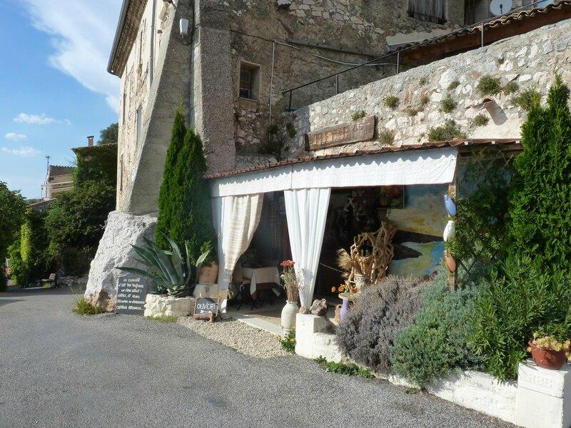 Boutique artisanale Eclats d'Art à Bauduen