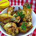 Colman's Mustard Chicken Wings