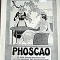 PHOSCAO JARDIN MAUD TYUBE <b>1931</b> PUBLICITE ANCIENNE AL 76