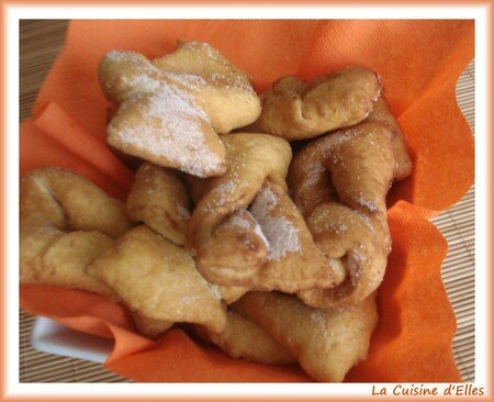 recettes dessert  Bugnes