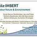 Cécile - Animateur Nature