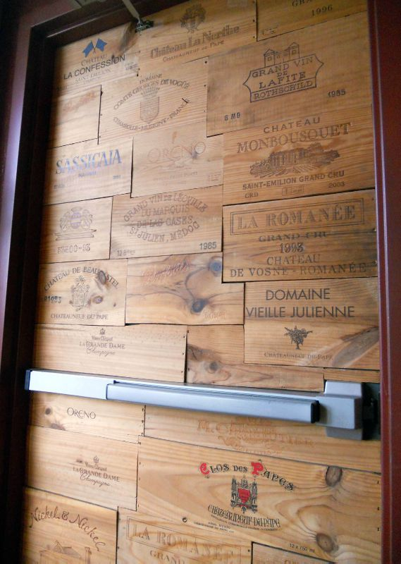 1000 images about caisse vin on pinterest for Meuble caisse vin