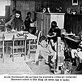 1936 - Mussolini impose le port de l'uniforme dans les écoles de Maria Montessori