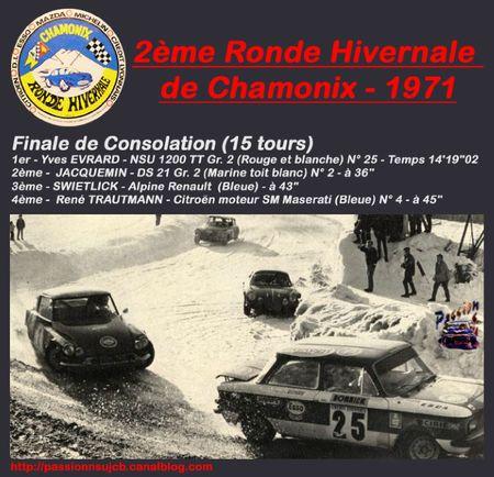 00 - 2ème Ronde de Chamonix 1971 - Finale de Consolation (Top) PNSU