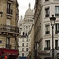 une balade  <b>Montmartre</b>