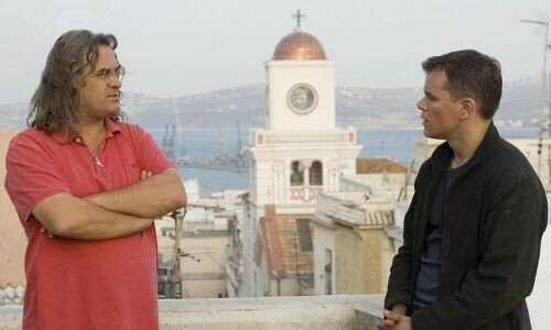 Paul Greengrass et Matt Damon