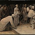 For the first time Pieter Bruegel the Elder's only three surviving grisaille paintings will be shown together