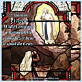 Dia 5 (20.02.1858) - 5ª Aparição à <b>Lourdes</b>