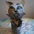 sculpture Chat - Art pour enfant - Artiste Agnès Berlingieri Artiste-<b>Peintre</b> et Sculpt-Paper