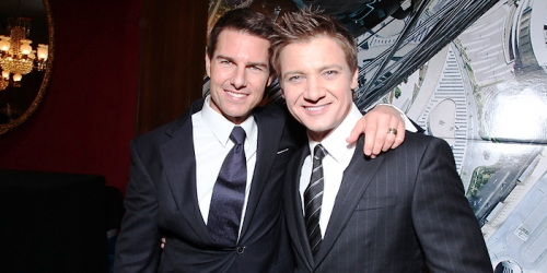 Tom Cruise et Jeremy Renner