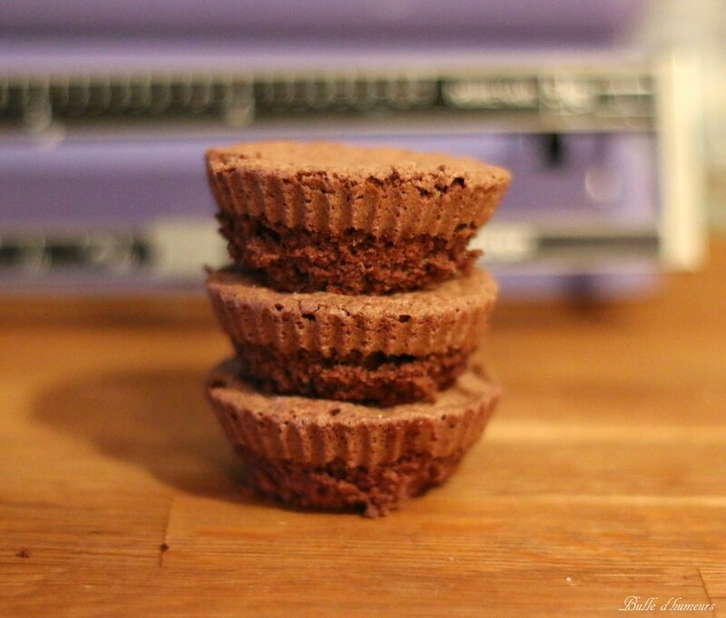 #4 mini brownies sans beurre