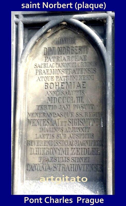 saint Norbert Artgitato Pont Charles Prague