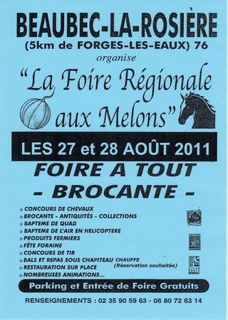 La foire aux melons de la Rosière (76). 67232106_p