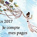 Je compte mes <b>pages</b> – Challenge 2017