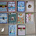♥ Deuxième série de cartes pour les fêtes ♥