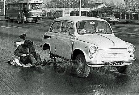 18 - Zaporozhets ZAZ 965 (Réparation n'importe où)
