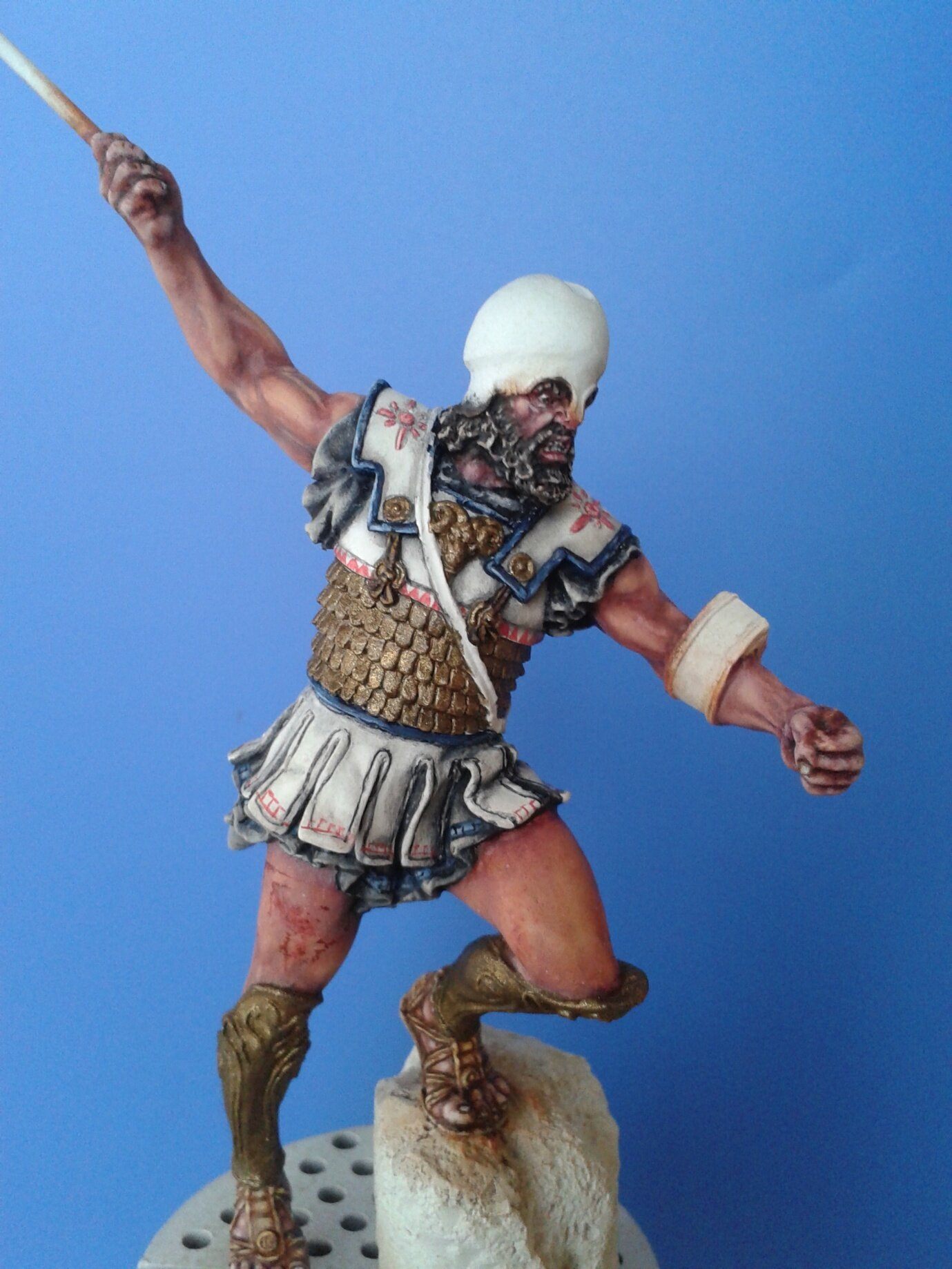 Hoplite Athenien - Alexandros model- FINI - Page 2 103182324_o