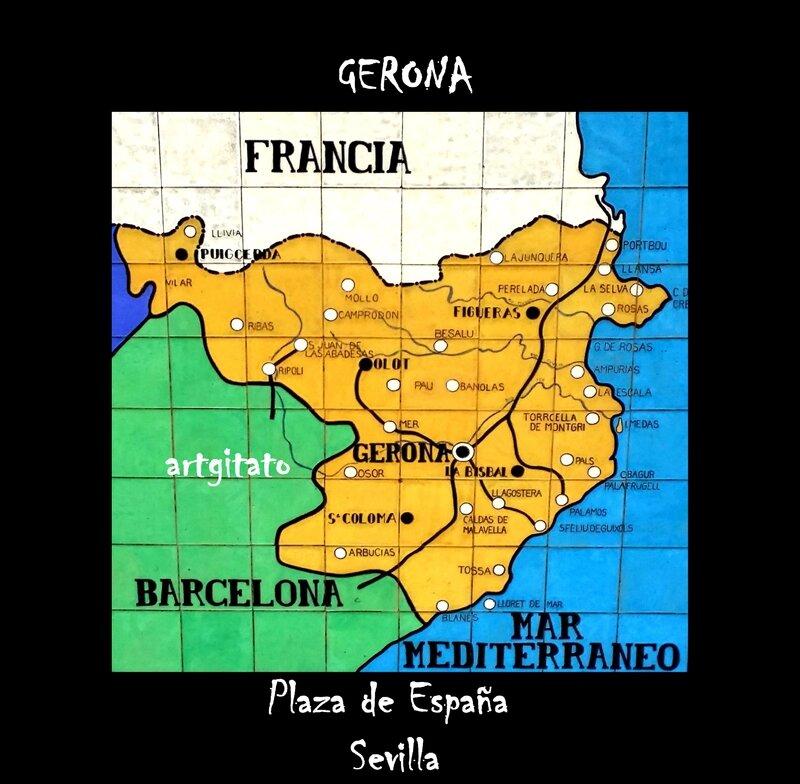 Gerona Gerone Artgitato Sevilla Carte