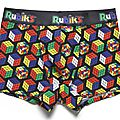Tee Shirt Rubik's Cube - <b>Caleçon</b> Rubik's Cube - Jules