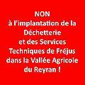 Un message du <b>Collectif</b> pour Préserver la Vallée Agricole du Reyran à Fréjus : à soutenir.