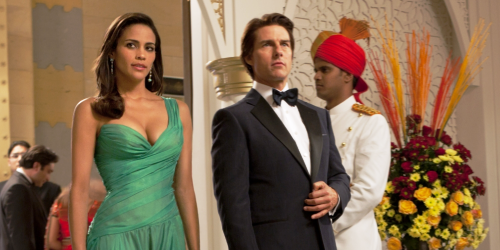 Paula Patton et Tom Cruise