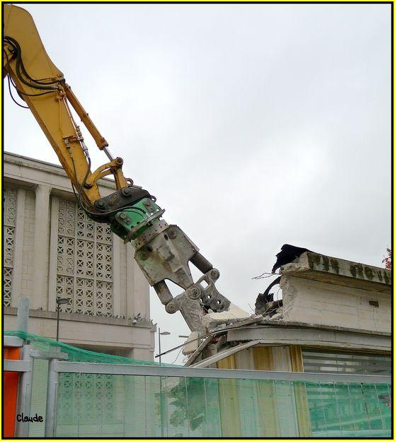 """Démolition d'un """"monument"""" du réseau havrais 58644645"""