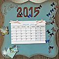 Calendriers 2015