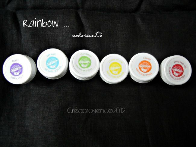 rainbow colorants - Colorant Macaron