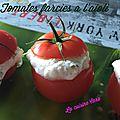 Tomates farcies à l'<b>aïoli</b>