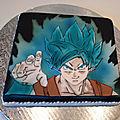 gâteau <b>Dragon</b> <b>Ball</b> <b>Z</b>
