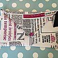 <b>Pochette</b> en forme d'enveloppe # 2