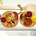 Brochette Apéritive Charcuterie & Fruit Vinaigrés