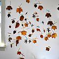 13 DIY déco d'automne : que faire avec des <b>feuilles</b> <b>mortes</b> ?