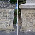 <b>Beaupréau</b>, la Croix de d'Elbée comme neuve