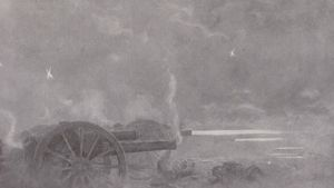 artillerie de campagne britannique L'Illustration