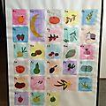 Abécédaire fruits et légumes