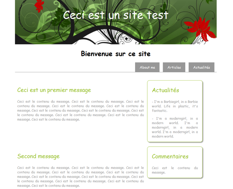 site test