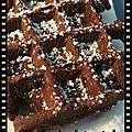 Mini-gaufres au chocolat façon <b>Martha</b> <b>Stewart</b>