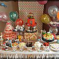 {l'anniversaire de Prunille } CANDYLAND birthday party {sweet table } { <b>gateau</b> 3D }