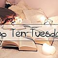 Top <b>Ten</b> Tuesday # 67